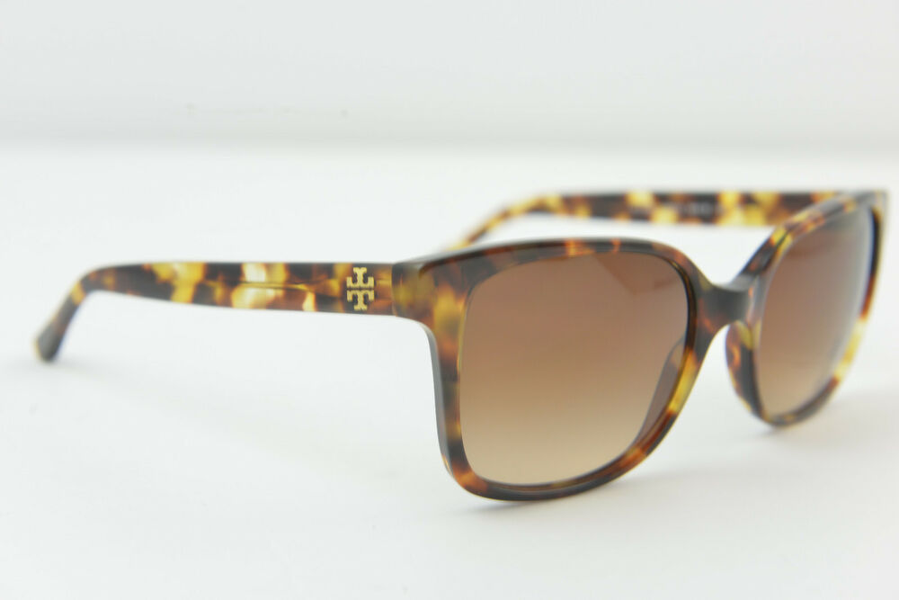 9a3f3df0b5 Details about Tory Burch women s sunglasses TY 7103 1150 13 54-19 140 3N  Yellow Havana Brown