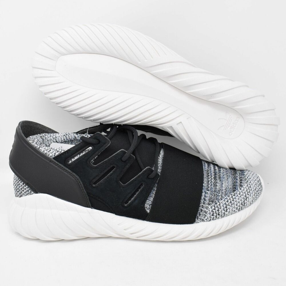 d2d4340e598ad Details about Adidas Tubular Doom PK BY3550 Mens Shoes Primeknit Originals  Black   White