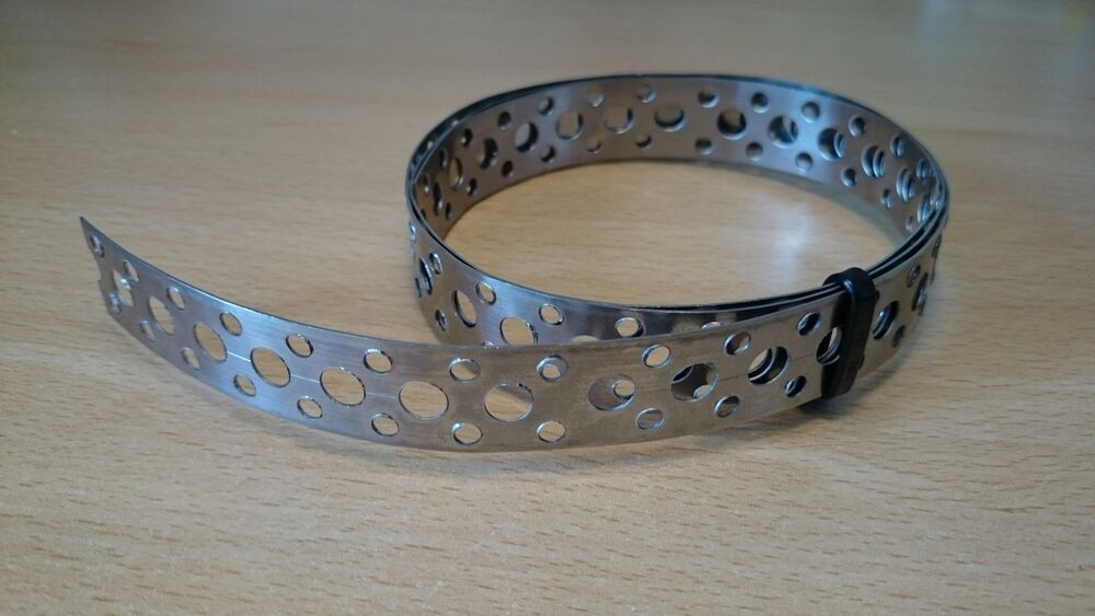 Engineers Stainless Steel Metal Punched Perforated Strip