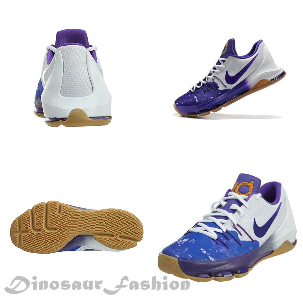 hot sale online f7bf8 1e3ba Details about NIKE KD 8 QS (GS) (846228-100)Youth (GIRLS-BOYS)  Sneaker-Basketball Shoes,NWB