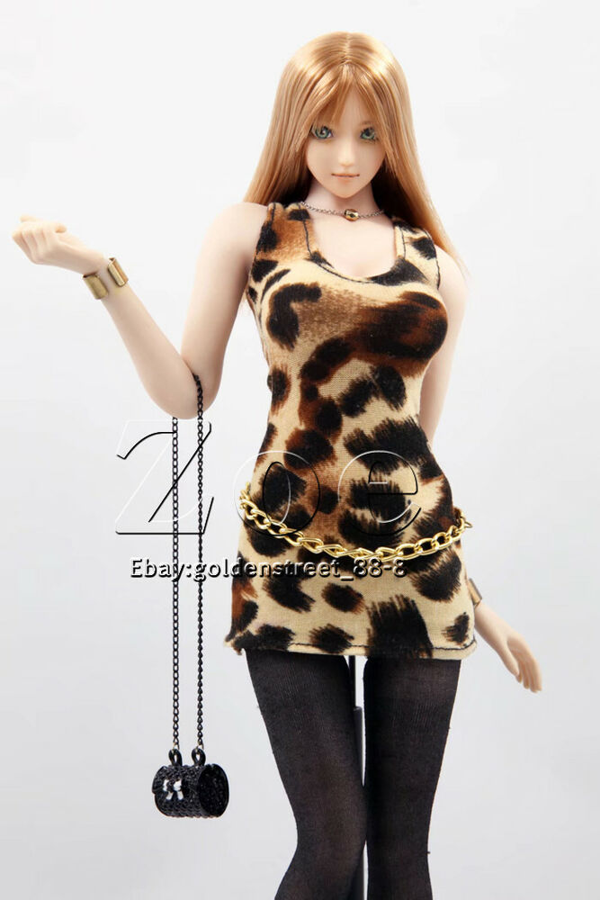 Details about [1/6 dress] PHICEN TBLeague sexy girl dress for jiaou doll  hot toys [no stain]