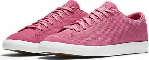 Brand New Mens Nike Lab All Court 2 Low 864719-600 Vivid Pink/Gum Light Size 10