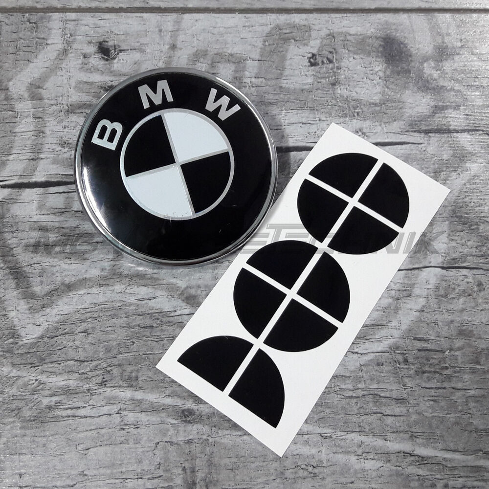 bmw emblem logo aufkleber ecken 16 mm z b f r motorrad. Black Bedroom Furniture Sets. Home Design Ideas