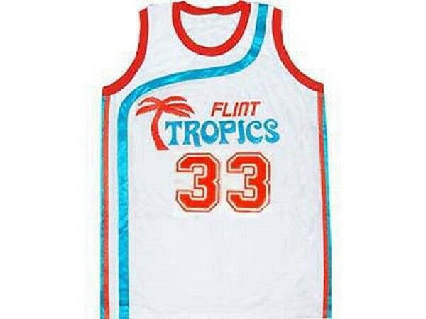 Details about SEMI-PRO MOVIE JERSEY FLINT TROPICS JACKIE MOON WHITE SEWN  NEW ANY SIZE ea38cc29b