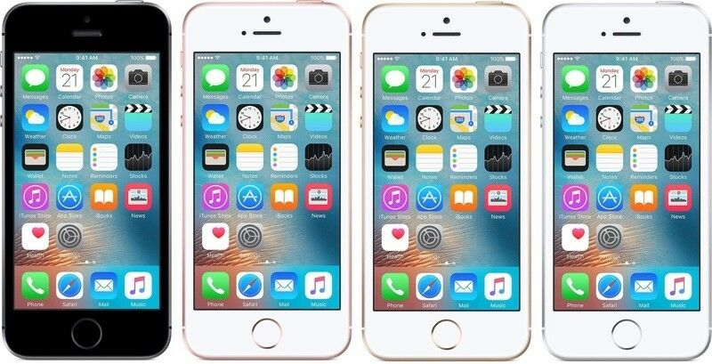 apple iphone se 16gb 32gb 64gb entsperrt smartphone. Black Bedroom Furniture Sets. Home Design Ideas