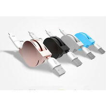 Hot 2 in 1 Type-C + Micro USB Telescopic Charge Cable For iPhone Android Phone