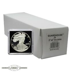 Kyпить 25 - Guardhouse 2x2 Tetra Snaplocks Coin Holders for 1-Oz American Silver Eagle на еВаy.соm