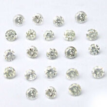 Holiday Sale Real 100% Natural Loose Full Cut Round Diamond I2-I3 I-J Color 1pcs