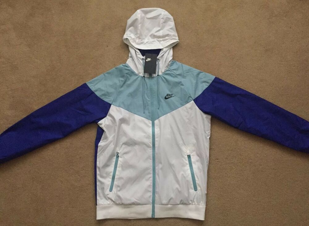 75d9c77d436c4 NEW Mens Nike Sportswear Windrunner FZ Jacket Hoodie Limited Edition Casual  Gym   eBay