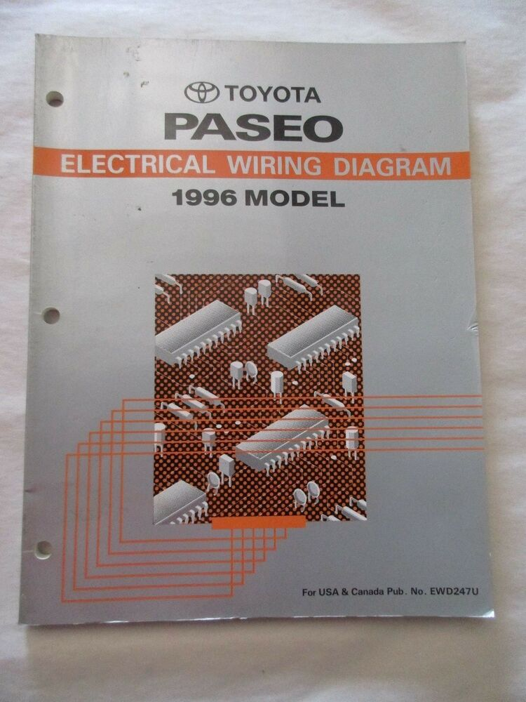 1996 Toyota Paseo Electrical Wiring Diagram Manual