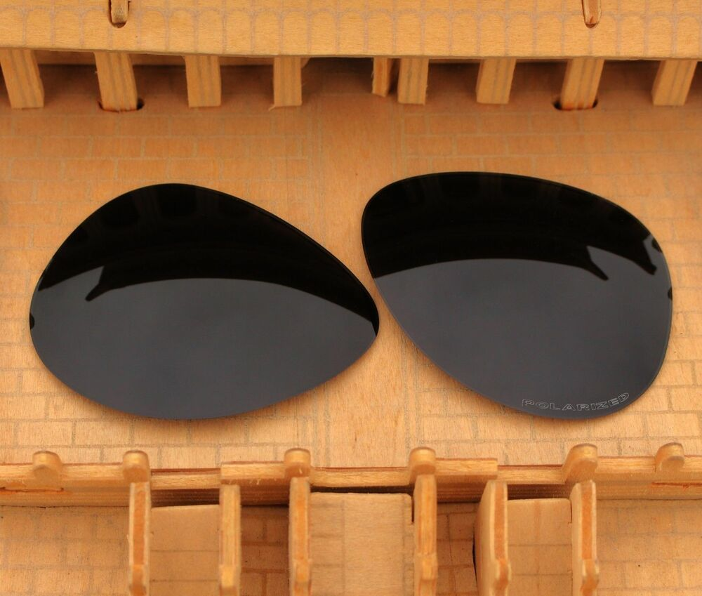 59f40f5216f01 ACOMPATIBLE Polarized Lenses Replacement for-Oakley Elmont L 60mm Stealth  Black
