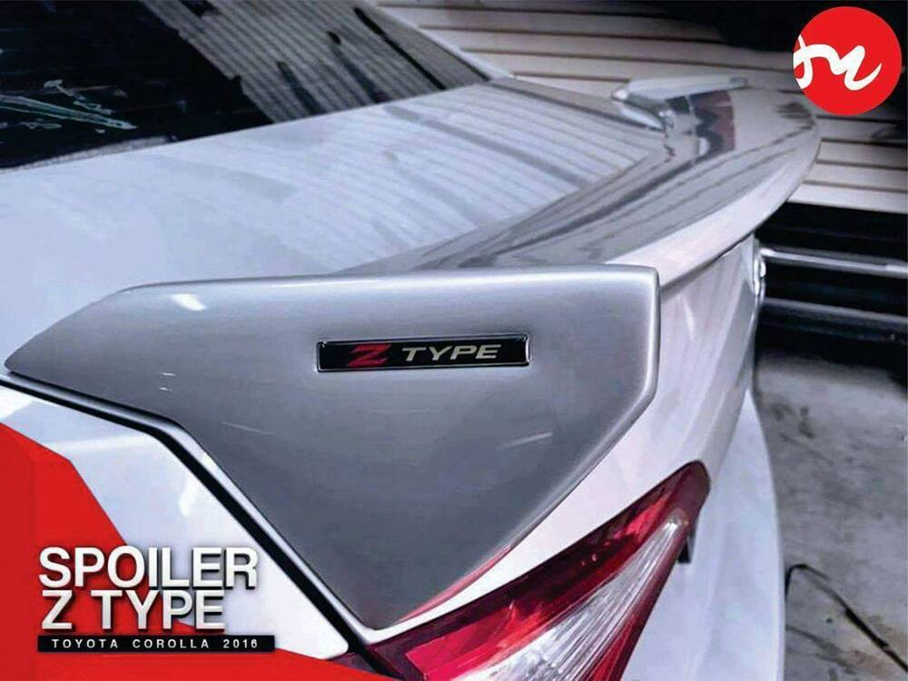 toyota corolla trunk spoiler z type 2014 2017 ebay. Black Bedroom Furniture Sets. Home Design Ideas