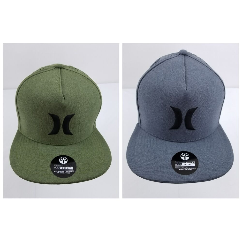 7eb03a42fd7e Details about HURLEY Nike Dri-Fit Icon Snapback Hat cap surf dri fit skate  Aerobill Snapback