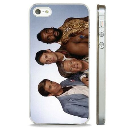 img-The A Team TV Show CLEAR PHONE CASE COVER fits iPHONE 5 6 7 8 X