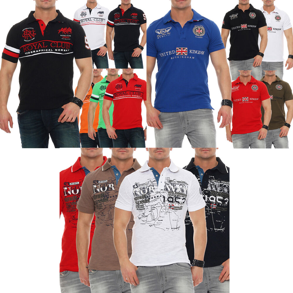 66a624ee Details about Geographical Norway Polo Short Sleeve T-Shirt Men's Shirt S M  L XL XXL 3XL
