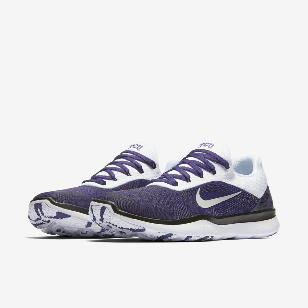 Nike Free Trainer V7 Week Zero TCU Horned Frogs Shoes AA0881-501 Mens Multi  Size | eBay