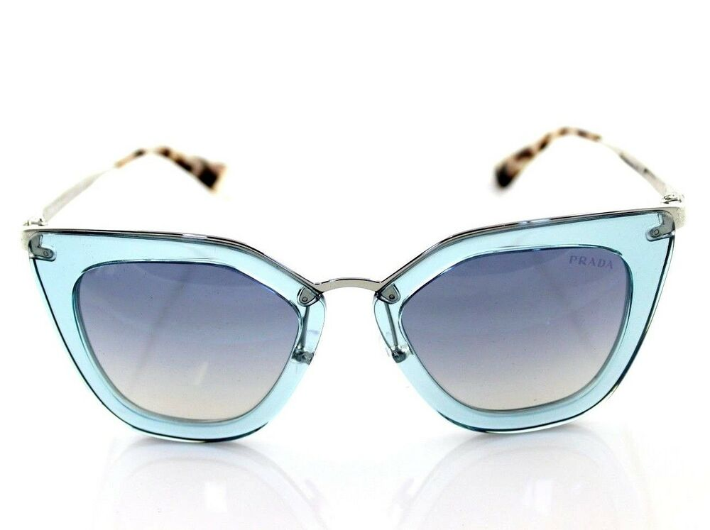 6231c6ce2c3 RARE Genuine PRADA CINEMA EVOLUTION Transparent Azure Sunglasses SPR 53S VYS-5R0  8053672784589