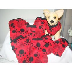 Cat or Dog Fleece sweater, vest style xxx-Small-Med.see more in my e-bay store