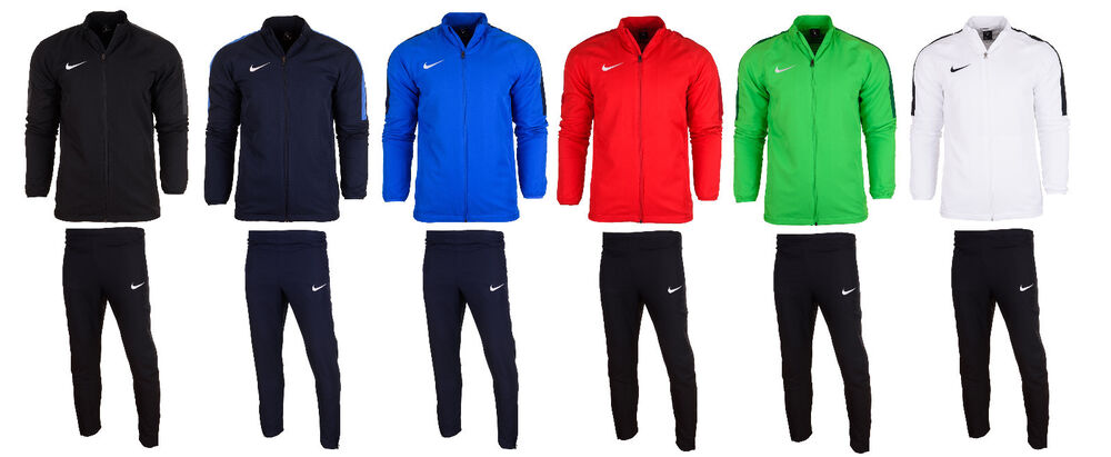 d5dbb8d77622 Details about Nike Mens Dry Academy 18 full tracksuit Top Track Jacket  Bottoms Pants Training