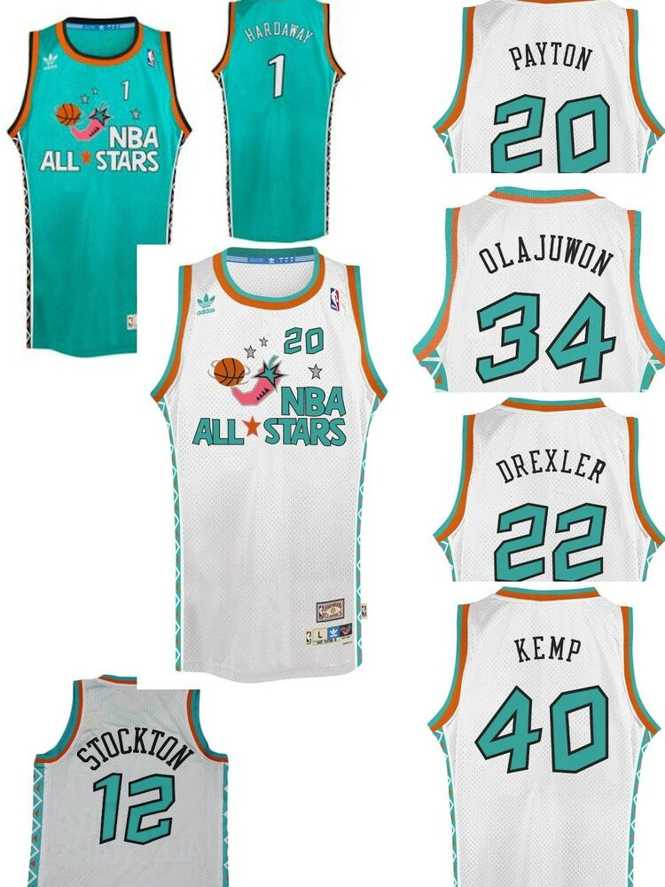 Details about Adidas Throwback 1995 All Star Swingman 7484A Jersey  Collection adc517b3b