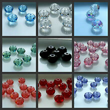 Swarovski Crystal Elements 5040 Bead RONDELLE Spacers - Choose Color and Size