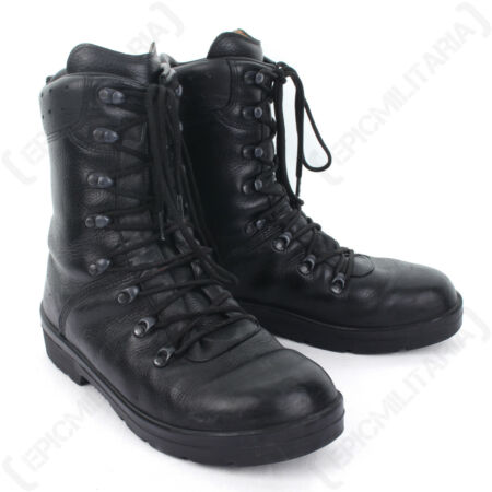 img-German Army Combat Boots - Moulded Leather Winter Military Cadet Patrol Surplus
