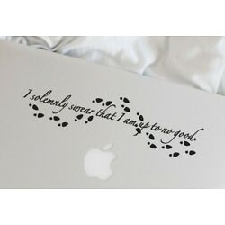 Harry Potter Decal, I Solemnly Swear That I am Up to No Good Sticker 2
