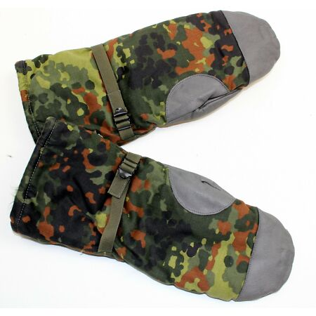 img-GERMAN ARMY GLOVES / MITTS FLEECE LINED in FLECKTARN CAMO