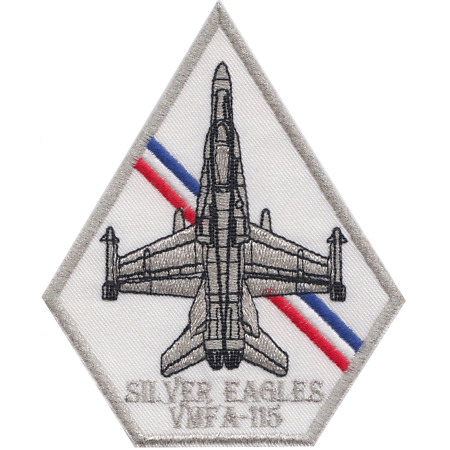 img-Marine Fighter Attack Squadron 115 VMFA-115 USMC Embroidered Patch