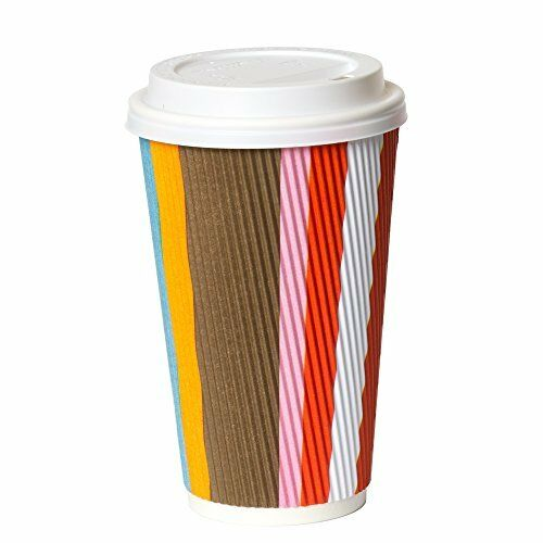 50 Pack16 oz To Go Coffee Cups with Lids Disposable ...
