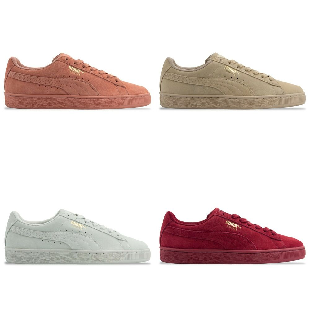 newest d5fac 96c20 Details about PUMA SUEDE CLASSIC TONAL TRAINERS - PUMA SUEDE 362595 -  RED CLAY PEBBLE FLOWER