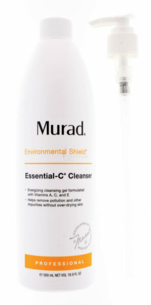 Murad  Essential-C Cleanser Professional Size 16.9 oz / 500mL AUTH Exp 01/21 NEW
