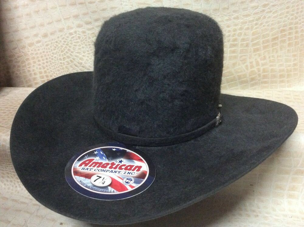 9bea4f86f27f1d Details about American Hat Co. Grizzly 20X Long Hair Beaver Fur Felt Cowboy  Hat Western Rodeo