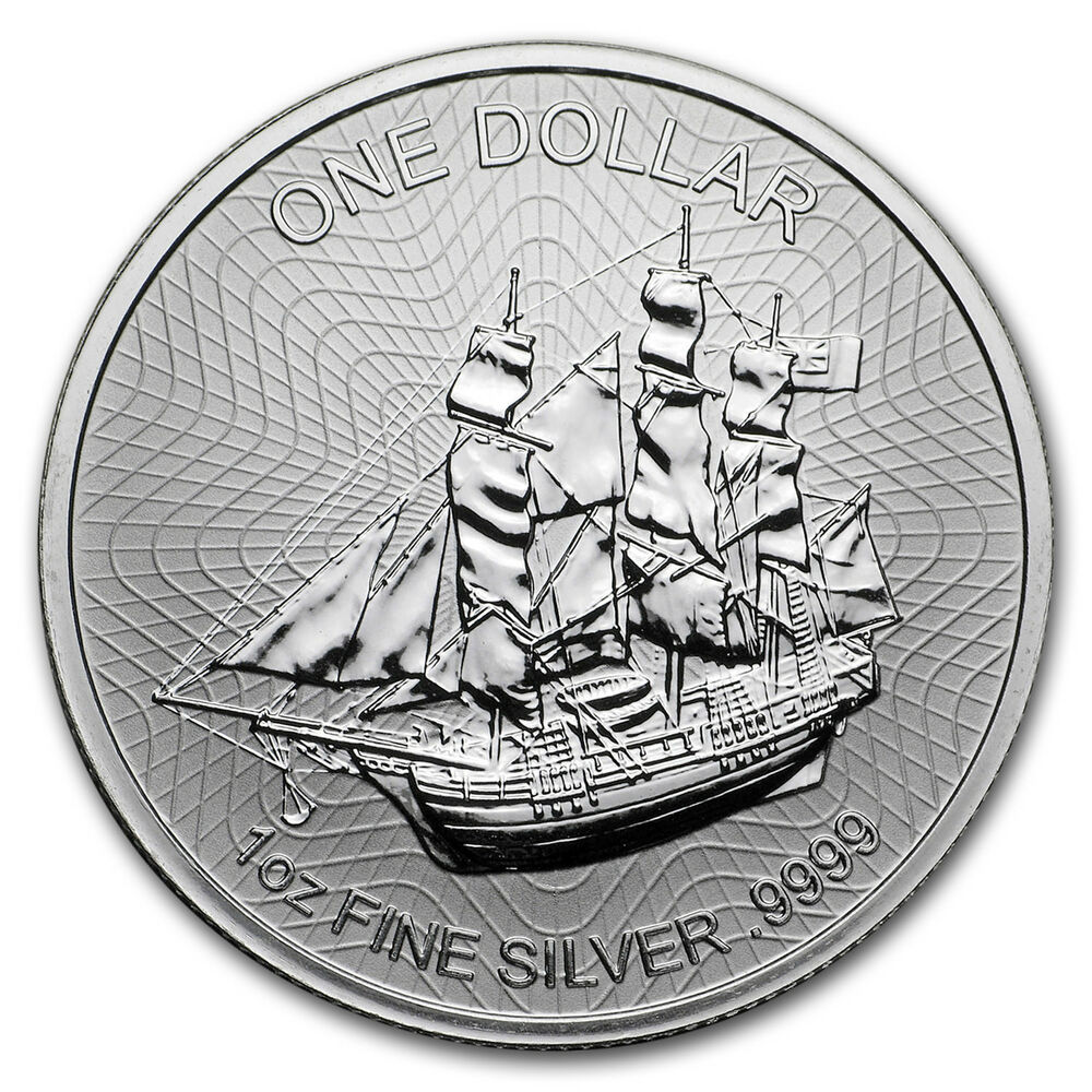 2018 Cook Islands 1 Oz Silver Bounty Coin Sku 152636 Ebay