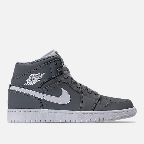 2810063f42a71 Details about AIR JORDAN RETRO 1 MID RETRO COOL GREY BASKETBALL SHOES MEN S  SELECT YOUR SIZE