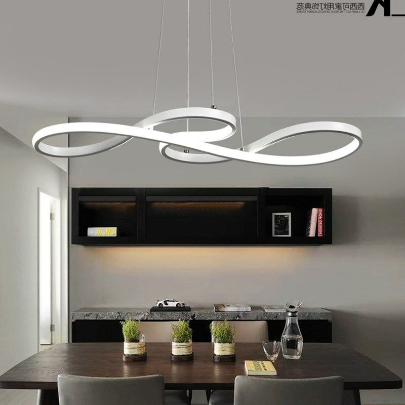 Dining Room Ceiling Light Fixtures: LED Chandelier Dining Room Ceiling Light Acrylic Pendant