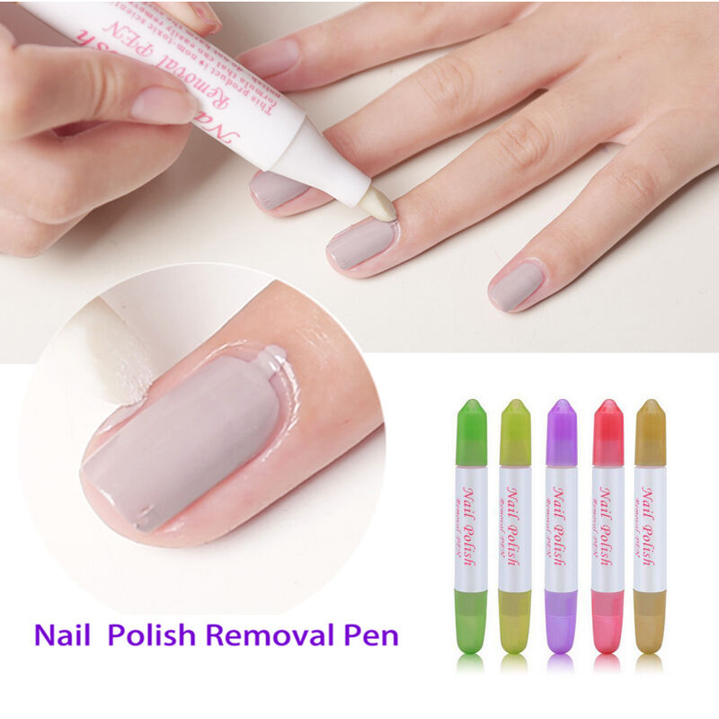 Nail Polish Tips: Beauty Nail Art Polish Corrector Pen Remove Mistakes Tool