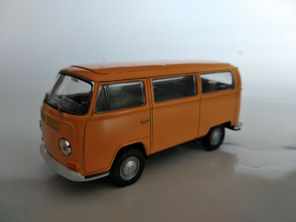 vw bus combi volkswagen t2 jaune 11 5cm neuf ebay. Black Bedroom Furniture Sets. Home Design Ideas