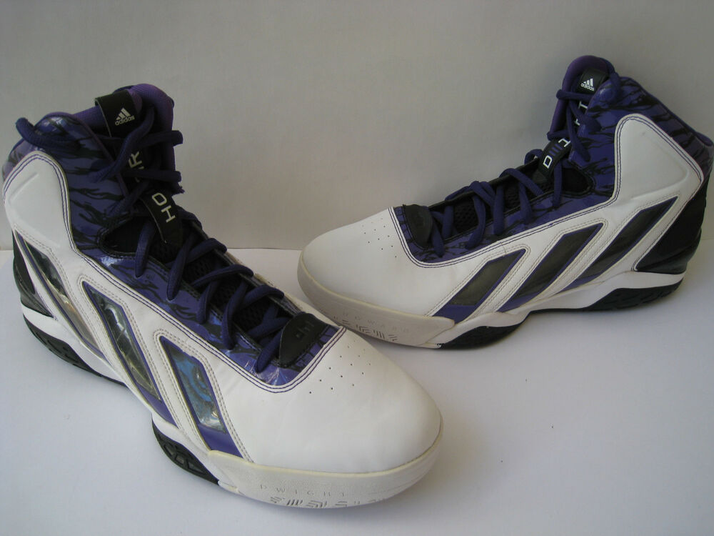 new concept 4974a 1f507 Details about ADIDAS DWIGHT HOWARD 12 BASKETBALL SHOES MEN SIZE US 17 EUR  52 23 NICE RARE