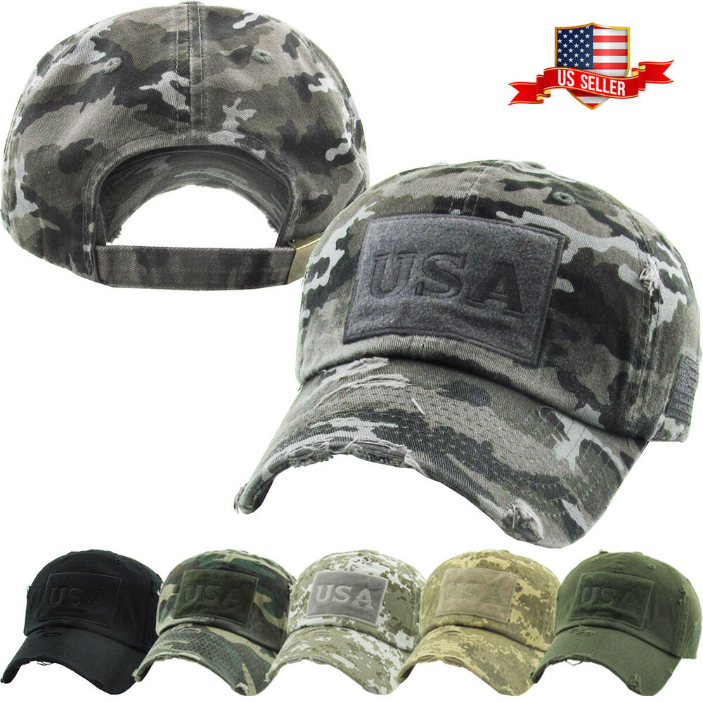 Hats Tactical Operator Hat Special Forces USA Flag Army Military