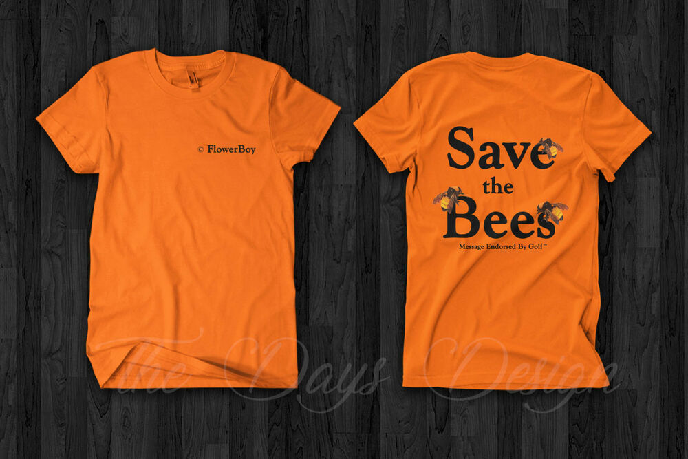3edf15526eeb Golf Wang Vince Staples And Tyler The Creator Save The Bees Flower