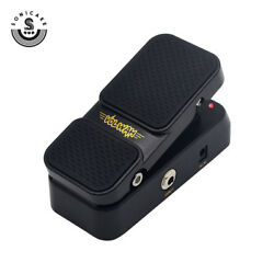 Sonicake Wah Active Volume 2 in 1 Foot switch Guitar Effects Pedal QEP-1