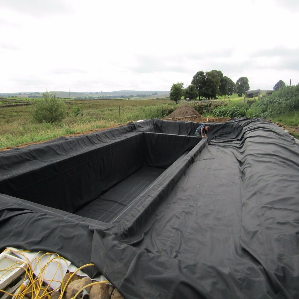 Garden & Lake Pond Liner SealEco Greenseal Rubber Pond