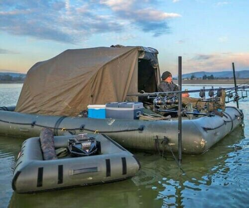 Inflatable Floating Fishing Camping Platform Shoal Tent