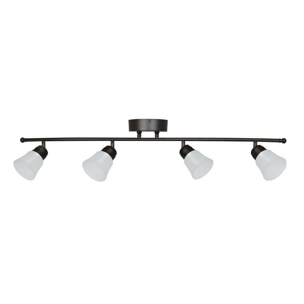 Details About Aspects Walton 4 Light Oil Rubbed Bronze Led Fixed Track Lighting Fixture