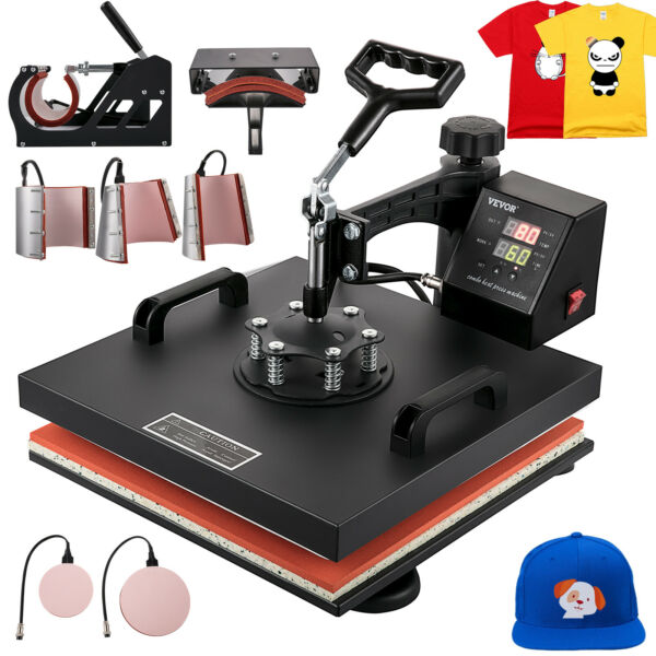 8 in 1 Heat Press Machine For T-Shirts 15