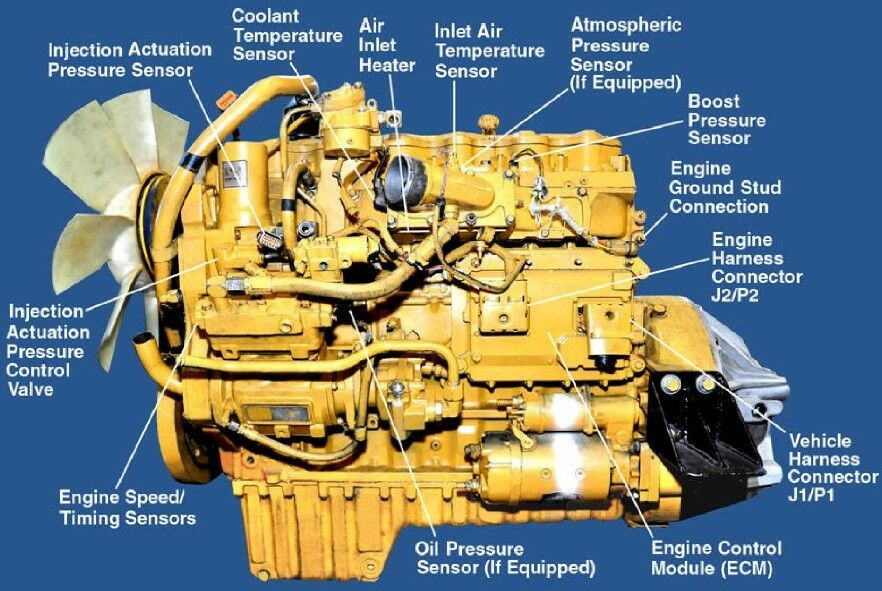 Caterpillar 3126  3126b  3126e Engine Workshop Repair