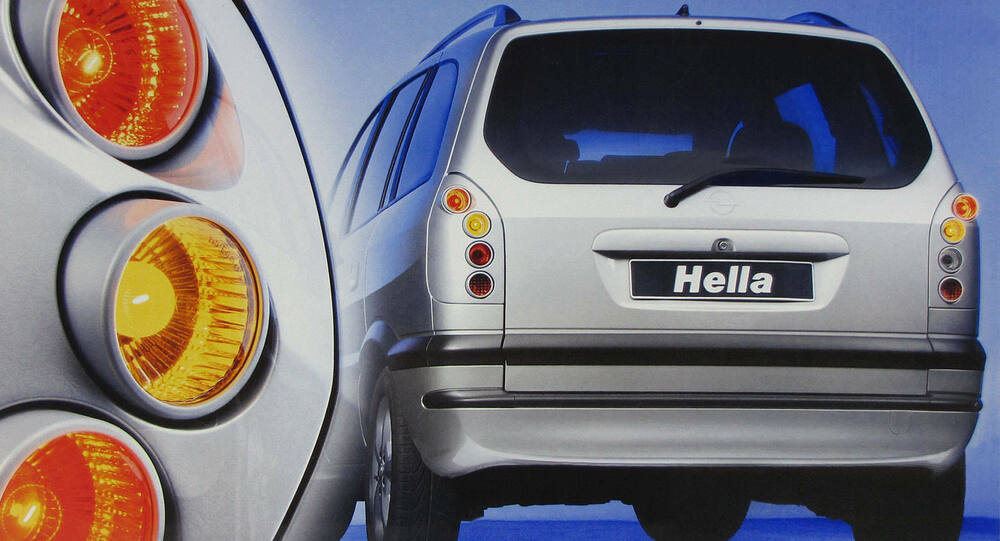Hella Upgrade Silver Finish Tail Rear Lights For Opel Zafira A F75