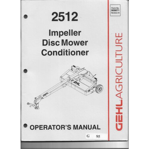 original-gehl-2512-impeller-disc-mower-conditioner-operators-manual-909871bp0603