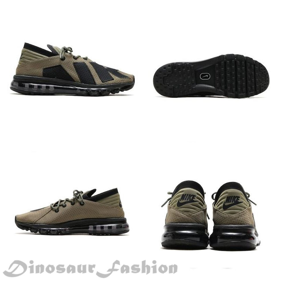 sneakers for cheap fa532 27362 Details about NIKE AIR MAX FLAIR (942236-201) Medium Olive.Men s Sportwears  Running Shoes.NWB